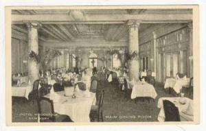 Hotel Woodstock,Main Dining Room, NYC,New York, 1900-10s