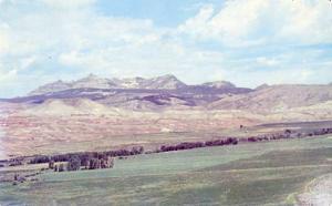 WY - Ramshorn Peak & Horse Creek Valley