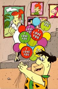 The Flintstones Fred & Wilma I Love You