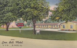 AAA Corn Belt Motel, U. S. 51, EL PASO, Illinois, 30-40s