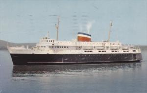 Car Ferry BLUENOSE , Yarmouth Nova Scotia - Bar Harbor Maine Route , PU-1956