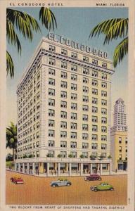 Florida Miami El Comodoro Hotel 1947