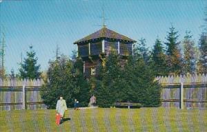 Bastion Fort Nisqually Point Defiance Park Tacoma Washington