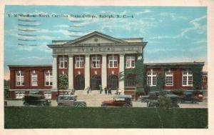 Raleigh, NC, YMCA at North Carolina State College, 1934 Vintage Postcard g783