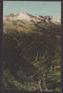 Manitou Springs at the Foot Pikes Peak CO Postcard 4720