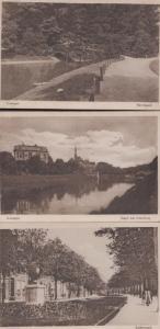 Groningen Holland 3x Antique Postcard Set