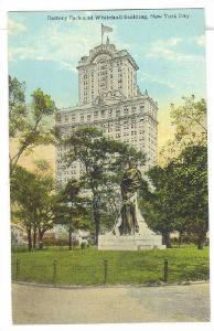 Battery Park & Whitehall Building, New York City, New York, 1900-1910s