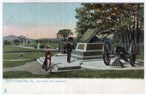 Gettysburg, Pa., High Water Mark Monument - Tuck
