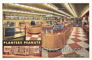 Atlantic City, NJ, USA Postcard Post Card Planters Peanuts