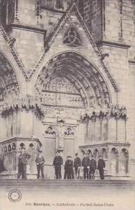 France Bourges Cathedrale Portail Saint-Ursin