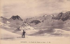 MODANE, Savoie, France, 1900-1910's; La Combe Des Roches En Hiver