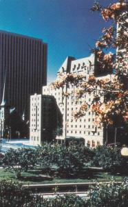 Exterior View, Autumn Trees Outside the Lord Elgin Hotel, Ottawa, Ontario, Ca...