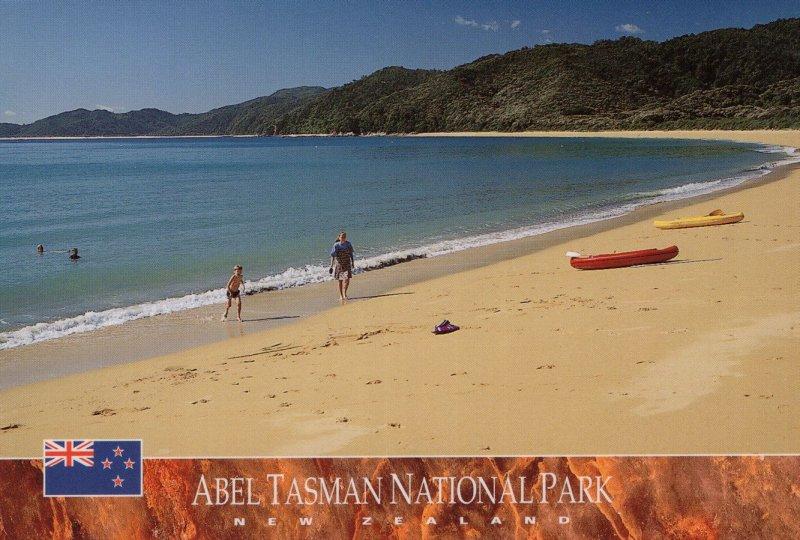 Abel Tasman National Park South Island New Zealand Postcard