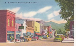 Main Street Andrews North Carolina