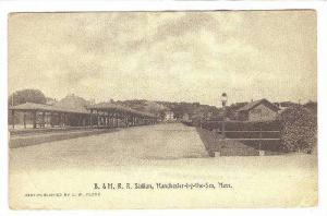 B.&M.R.R. Station,Manchester-by-the-sea, Massachusetts,PU-1913