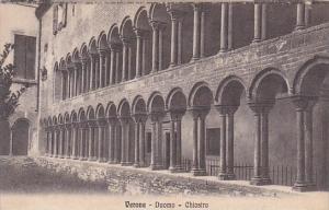 Italy Verona Duomo Chiostro