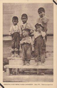 Eskimo Indians , Canada , 1910s : Petits sauvages Cris #1