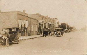 RP: VERNDALE , Minnesota , 1918 ; Main Street