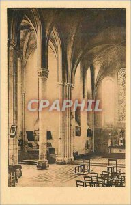 Postcard Old Saint Jean aux Bois (Oise) Church Choir and north transept (Debu...