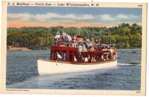 US Mailboat, Uncle Sam, Lake Winnipesaukee, NH