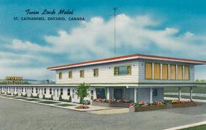 ST. CATHARINES, Ontario, 40-60s ; Twin Lock Motel