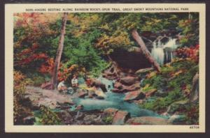 Rainbow Rocky-Spur Trail,Great Smoky Mountains Postcard