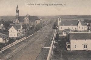 Harrison Street Looking North - Remsen Iowa  1913