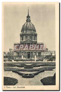 Old Postcard Paris Invalides