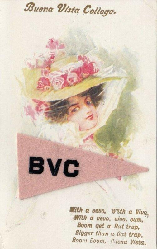 STORM LAKE , Iowa, 1900-10s ; Buena Vista College Girl