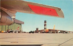 Colorpicture Edwards Air Force Base Mojave Desert California Postcard 7481