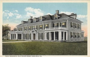 CARLISLE , Pennsylvania , 1900-10s ; Todd Memorial Old Folks Home