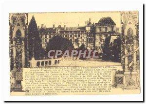 Blois Old Postcard The castle
