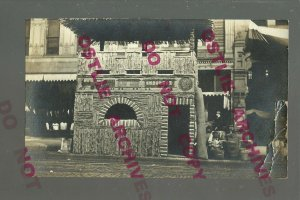 Missouri RPPC c1910 CORN PALACE Railroad MO-PAC IRON MOUNTAIN MP RR Kansas?