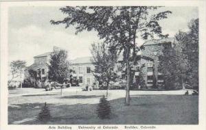 Colorado Boulder Arts Building University Of Colorado Albertype