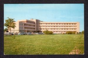 MS Washington County Genereal Hospital Greenville Mississippi Miss Postcard PC