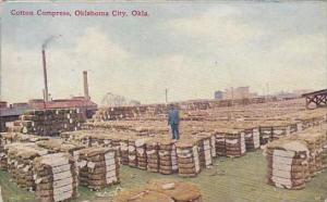 Oklahoma Oklahoma City Cotton Compress 1909