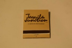 Tequila Junction Pittsburgh Pennsylvania 20 Strike Matchbook