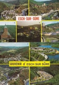 Luxembourg Esch Sur Sure 2x Postcard