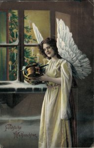 Christmas Angel Vintage Postcard 03.33