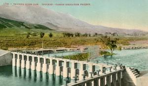 CA - Truckee River Dam, Truckee-Carson Irrigation Project