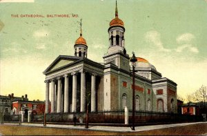 Maryland Baltimore The Cathedral 1909