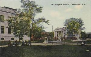 South Carolina Charlestom Washington Square