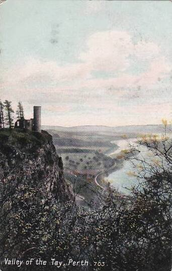 Scotland Valley Of The Tay Perth 1908