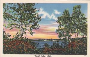 Michigan Scene At Torch Lake