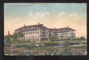 ANCON PANAMA CENTRAL AMERICAN HOTEL TIVOLI VINTAGE POSTCARD