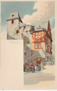 Cochem a/M , Germany , 1890s ; Privathaus