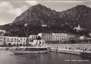 RP, Boat, Marina Grande, Capri (Napoli), Campania, Italy, PU-1950s