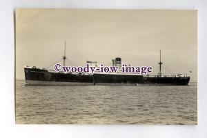 pf0135 - Manchester Liners Cargo Ship - Manchester Progress built 1938 -postcard
