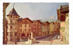 Berchtesgaden , Germany , Marktplatz, 30-50s