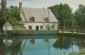 LES EBOULEMENTs, Quebec, Canada, 40-60s; Vieux Moulin a Farine